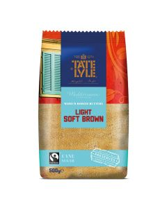 Tate and Lyle Light Soft Brown Sugar 500g