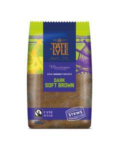 Tate and Lyle Dark Brown Soft Sugar 500g
