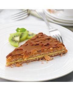 Almondy Gluten Free Caramel and Peanut Tarta 12 pre ptn