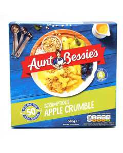 Aunt Bessie's Bramley Apple Crumble 550g