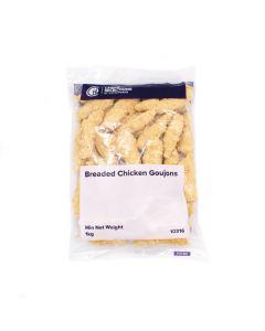 Chefs Selection Breaded Chicken Goujon 1kg