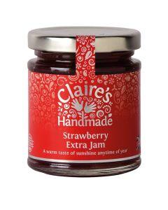 Claires Handmade Strawberry Jam 227g