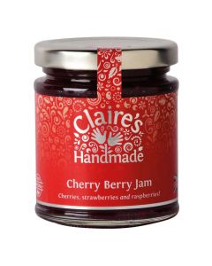 Claires Handmade Cherry Berry Jam 227g