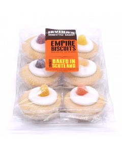 Irving's Empire Biscuits 200g