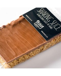 Traybakes Butter Flapjack With Milk Chocolate Sharing Slice