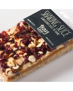 Traybakes Caramel and Cranberry Flapjack Sharing Slice
