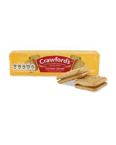 Crawford's Custard Cream Biscuits 125g