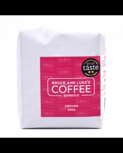 Bruce and Lukes Espresso Ground Coffee 500g
