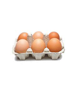 Free Range Eggs 6 Pack