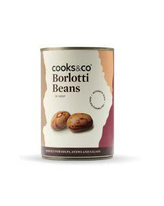 Cooks and Co Borlotti Beans 400g