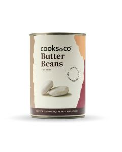 Cooks and Co Butter Beans 400g