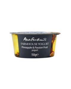 Farmhouse Yogurt Pineapple and Passion Fruit 150g