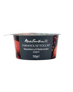 Farmhouse Yogurt Strawberry and Redcurrant 150g
