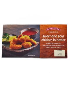 Mayflower Sweet and Sour Chicken in Batter 255g
