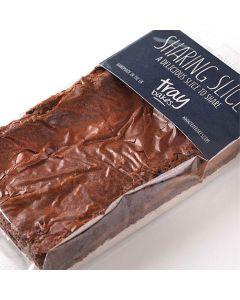 Traybakes Salted Caramel Brownie Sharing Slice