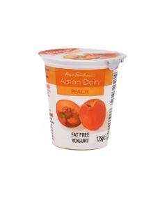 Peach Fat Free Yogurt 125g