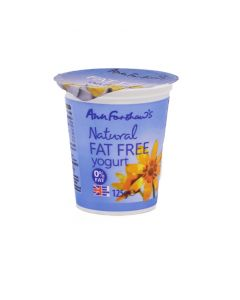 Fat Free- Natural Yogurt 125g