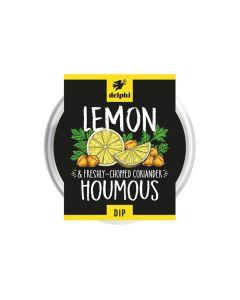 Delphi Lemon and Coriander Houmous 170g