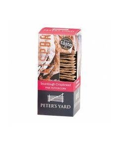 Peter's Yard Sourdough Pink Peppercorn Crispbread 90g
