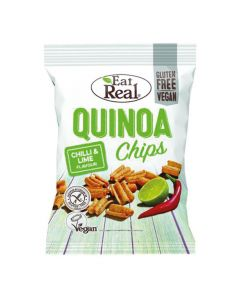 Eat Real Chilli and Lime Quinoa Chips 80g