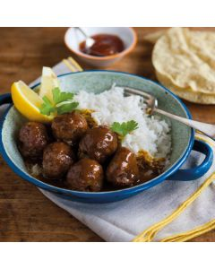 8 Meatballs with Bombay Curry Sauce 450g