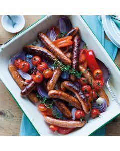 Pork & Tomato Sausages 500g