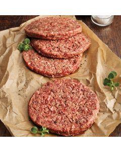 4 Steak Burgers 600g