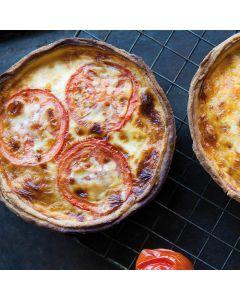 Ham & Cheese Quiche 400g