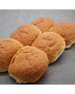 6 Large Brown Rolls