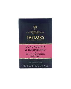 Taylors of Harrogate Blackberry and Raspberry Infusion