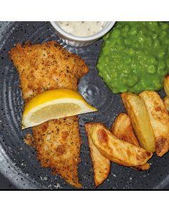 Scottish Haddock in a Salt and Pepper Crumb