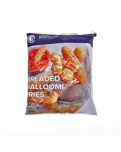 Chefs Selection Breaded Halloumi Fries 1kg