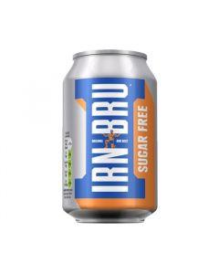 Irn Bru Sugar Free Cans
