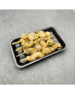 4 Mediterranean Chicken Kebabs