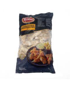Tyson Southern Fried Chicken Strips 1kg