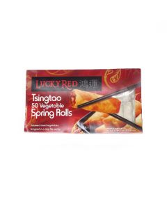 Lucky Red Vegetable Spring Rolls 50 pack