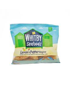 Whitby Seafoods Lemon and Pepper Breaded Cod Goujons 275g