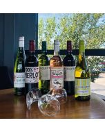 French Wine Tasting Case