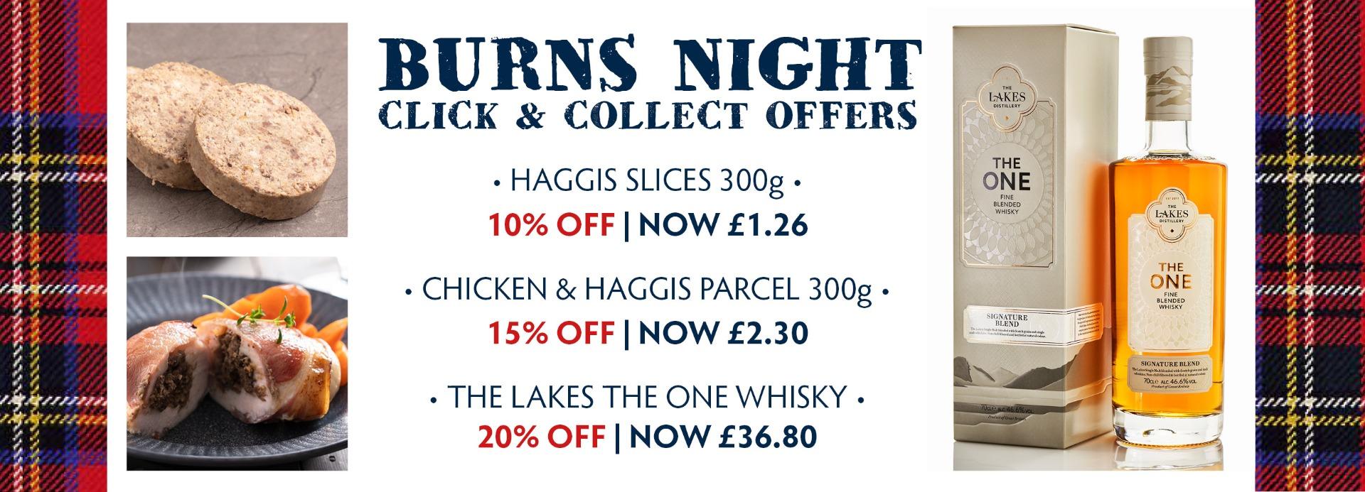Burns Night Special Offer